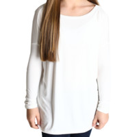 Off White Piko Kids Long Sleeve Top