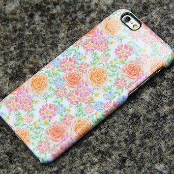 Summer Flowers iPhone XS Max s Case Floral iPhone XS Max plus iPhone 8 SE  Samsung Galaxy S8 S6  S3 Note 3 Case 017