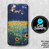Sunflower iPhone 6s Case iPhone 7 Plus iPhone 6 Plus iPhone 6s Plus iPhone 5c iPhone 5 iPhone SE Case Sunflower Yellow Flower Field Tumblr