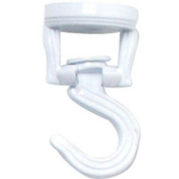 Panacea™ 86132 Decorative Swivel Ceiling Hook, White