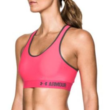 Under Armour Women's Armour Mid Sports Bra| DICK'S Sporting Goods
