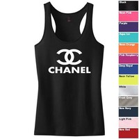 Chanel Top Racerback Tank. Chanel tanktop