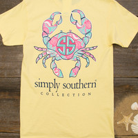 Crab Sunrise Tee | Simply Southern