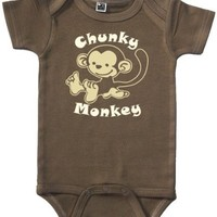 Funny Baby Bodysuit (Chunky Monkey - Sizes 0 - 12 mo)