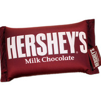 Hershey's Milk Chocolate Bar Squishy Candy Pillow | CandyWarehouse.com Online Candy Store