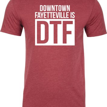 "3B Radio ""Downtown Fayetteville is DTF"" Tee"