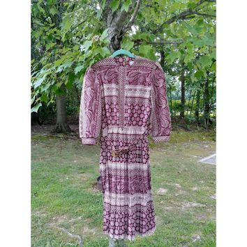 Women's Vintage Lady Carol Dress from the 70's