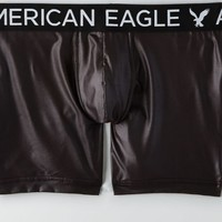 AEO Men's Longer Length Flex Trunk (Black)