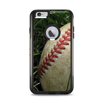 The Grunge Worn Baseball Apple iPhone 6 Plus Otterbox Commuter Case Skin Set