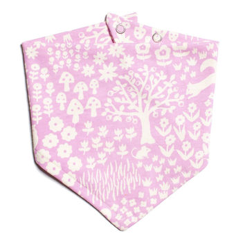 Woodland Kerchief Bib by Winter Water Factory