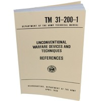 Unconventional Warfare devices-References - Military Technical Manual