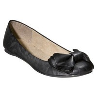 Women's Mossimo Supply Co. Odelina Bow Flats - B... : Target
