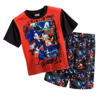 Sonic the Hedgehog Pajama Set - Boys 6-10