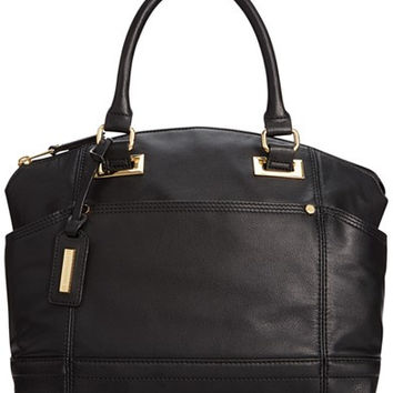 Tignanello Pretty Pockets Smooth Leather Convertible Satchel