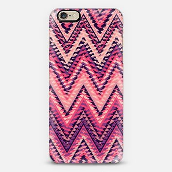 SUMMER TRIBAL CHEVRON iPhone 6 case by Nika Martinez | Casetify