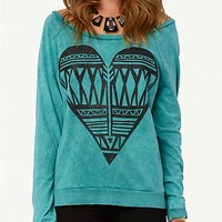 Tribal Heart Raglan Tee | Get Graphic | rue21