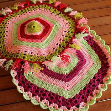 Handmade Washcloth - Crochet  Washcloth