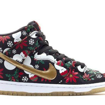 DCCKJ3V nike dunk high sb ugly christmas sweater