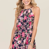 Ellie Floral A-line Dress