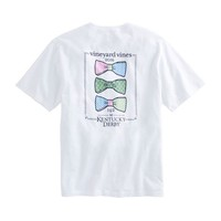 Short-Sleeve Bow Tie Lineup Pocket T-Shirt