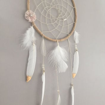 Golden Daze Boho Dreamcatcher Wall Hanging