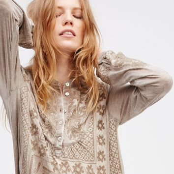 Free People New Romantics Carolina Henley