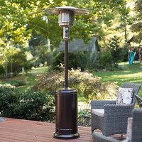 Fire Sense Stainless Steel Patio Heater Outdoor Grills Heating Gas BBQ Friends