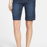 Jag Jeans 'Louie' Stretch Denim Bermuda Shorts (Petite)