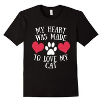 My Heart Was Made To Love My Cat T-Shirt