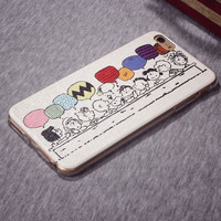 On Sale Stylish Hot Sale Hot Deal Iphone 6/6s Cute Lovely Snoopy Iphone Apple Soft Cartoons Phone Case [6283964614]