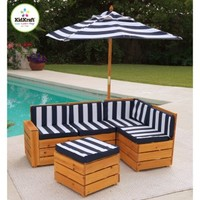 KidKraft Kids Outdoor Sectional Patio Set | www.hayneedle.com