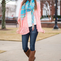 Love So Bright Cardigan, Pink