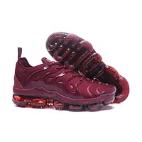 Air VaporMax TN 2018 Plus Wine Red Sport Shoe 40-45