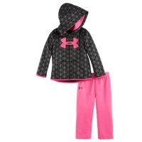 Under Armour Girls' Infant UA Flawless Hoodie Set