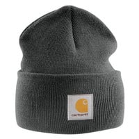 Carhartt - Acrylic Watch Cap - Charcoal Branded Beanie Ski Hat