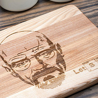 Personalized Cutting Board, Wedding Gift, Engagement Gift, Anniversary Gift, Engraved Wooden Chopping Block, Kitchen Decor