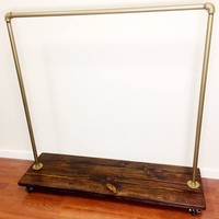 Retail display rack - garment rack- industrial clothing rack