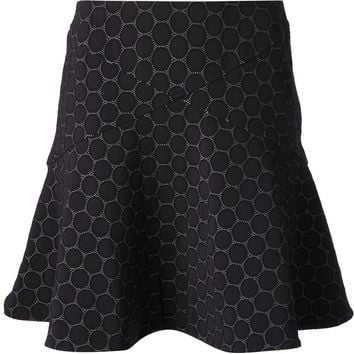 Marc By Marc Jacobs Circle Pattern Skirt