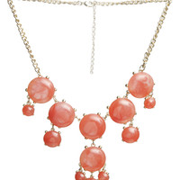 Marbled Essential Statement Necklace | Shop Jewelry at Wet Seal