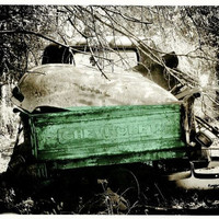 Dad's Old Vintage Chevy, Archival 8x10 Print of Original Mixed Media Photo