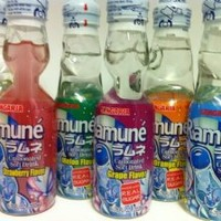 Ramune (Japanese Soda) 6.76 oz Assorted Flavors 6pk