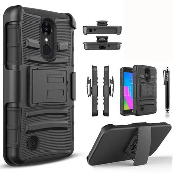 YUMQUA LV3 Capa Case For LG K8 2017 Cover Cases Fit 360 all Around Protection for lg aristo ms210 fortune Phoenix3 US Version
