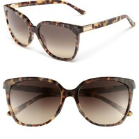 Women's Gucci 57mm Oversized Sunglasses