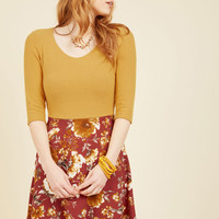 Ready for the Jetty Twofer Dress in Marigold | Mod Retro Vintage Dresses | ModCloth.com