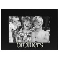 Malden Expressions Brothers Picture Frame, Black