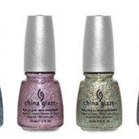 China Glaze Prismatic Chroma Glitters Collection 6pc Set