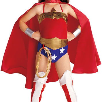 Justice League DC Comics Wonder Woman Child Costume - Small