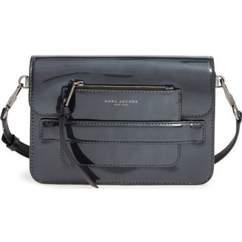 MARC JACOBS Medium Madison Patent Leather Crossbody Bag | Nordstrom