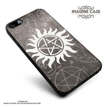 Supernatural symbol case cover for iphone, ipod, ipad and galaxy series