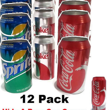 12 Hide Your Beer Soda Pop Can Disguise-Fun BBQ Party Favor- Memorial Day, 4th Of July -Summer -Fathers Day